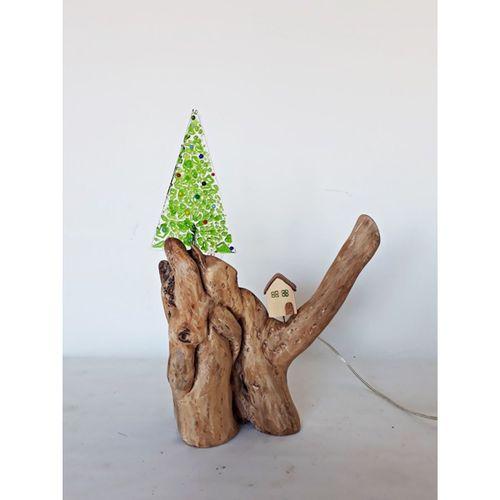 Acaipbidükkan Doğal Ağaç Abajur