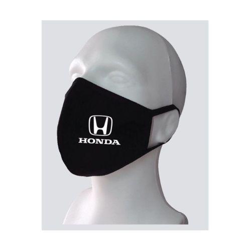 Honda Baskılı Yıkanabilir Rahat Çift Kat Kumaş %100 Pamuk Yüz Maskesi
