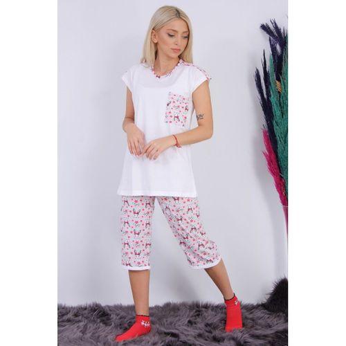 Somon Cepli Pijama Takımı