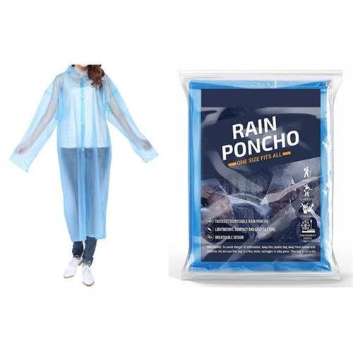 Transformacion Mavi 3 ADET Pratik Yağmurluk