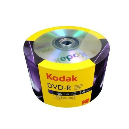 Kodak 16x DVD+R 4.7 Gb (50 lik Paket)