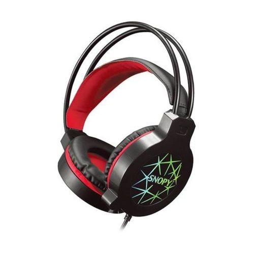 Sn-gx7 Crazy Siyah Usb Ledli Mikrofonlu Oyuncu Kulaklığı