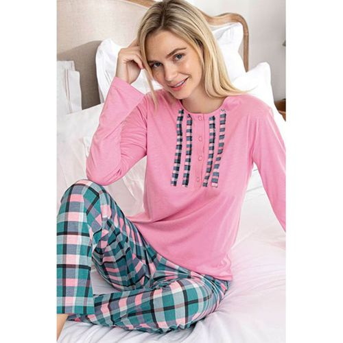 Aydoğan Bayan Pamuk Pijama Takımı Kadın Modal Kumaş