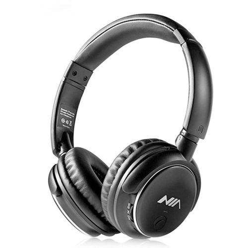 Nia Q1 Kafa Üstü Mikrofonlu Kablosuz Bluetooth Kulaklık