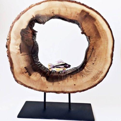 Doğal Ağaç Dekoratif Aksesuar K2461