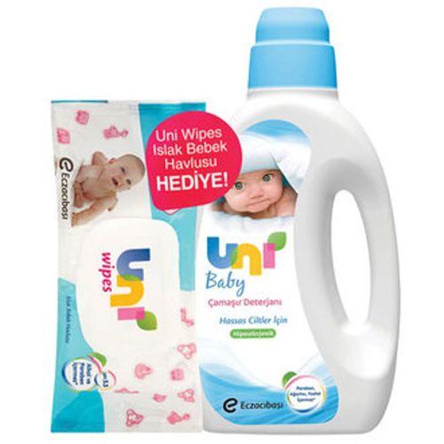 Hassas Ciltler İçin Antialerjik Sıvı Bebek Çamaşır Deterjanı Ve Bebek Islak Mendili