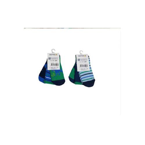 Kokulu Antibakteriyel Yıkanmış Erkek Çocuk Çorabı 6'lı