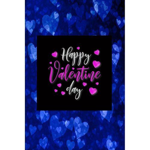 Sevgililer Günü Özel Kalp Tasarımı Kanvas Tablo 70x70 cm