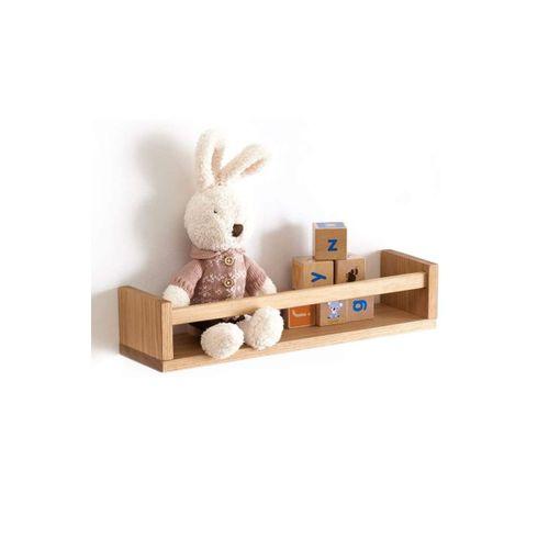 Montessori Kitaplık Çocuk Bebek Odası Duvar Rafı