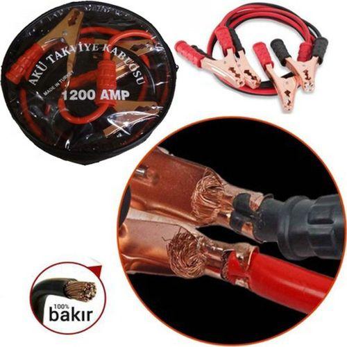Akü Takviye Kablosu 1200 Amper (Taşıma Çantalı)