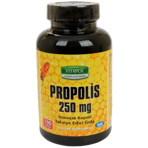 Vitapol Propolis Arı Sütü Polen 500 Mg 100 Kapsül Skt Ocak 2023