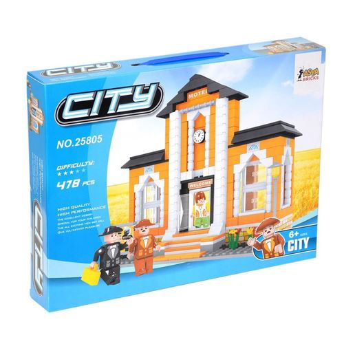 ASYA Oyuncak  Ant Bricks 478 Parça City Blok Seti