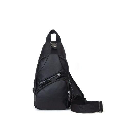 Newish Polo Yıkama Deri Body Bag Çapraz Çanta Unisex Usb Çıkışlı