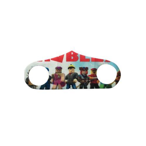 Desenli Yıkanabilir Koruyucu Çocuk Maske 2 Adet - Model 12
