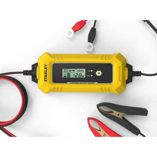 STANLEY SXA25 6V/12 120A Dijital Akıllı Akü Şarj ve Akü Bakım Cihazı