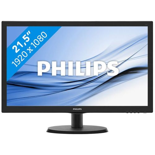 PHILIPS 223V5LHSB2/00 5MS 60MHZ VGA+HDMI 21.5 FULL HD LED MONİTÖR