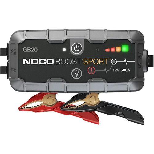 NOCO Genius GB20 12V 500Amp Ultrasafe Lityum Akü Takviye + Powerbank + Led Lamba