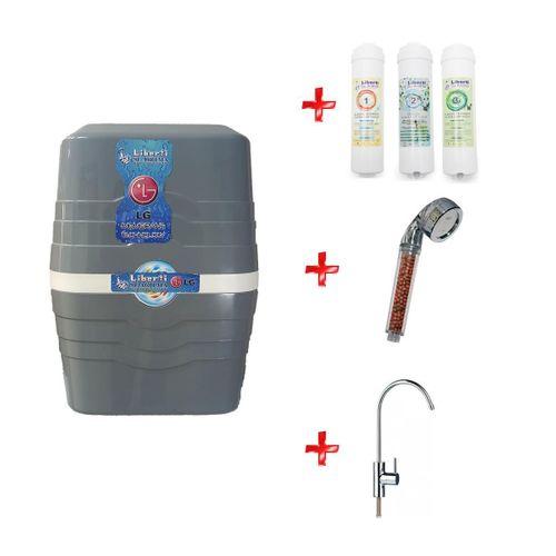 Liberti B Plas POMPALI LG Mebran 11 Aşamalı Su Arıtma Cihazı  3 Ön Filitre + Musluk+Duş Başlığı Hediyeli