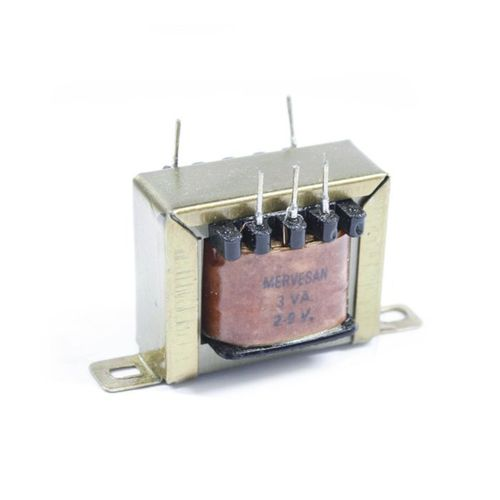Mervesan 3-W 2x9V Transformatör