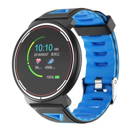 Smart Watch ST1 Dokunmatik IP68 Su Geçirmez Mavi