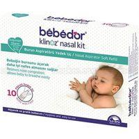 Bebedor 565 Klinoz Burun Aspiratörü Filtreli Yedek Uç 10lu