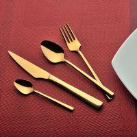 Sarpaş 90 Parça Gold Çatal Kaşık Bıçak Takımı (25896)