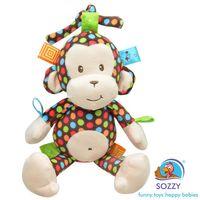 Sozzy Toys Renkli Maymunum- MARKA GARANTİLİ- ÜCRETSİZ KARGO