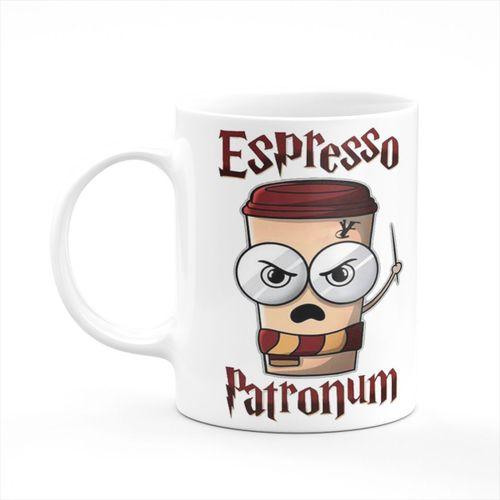 Espresso Patronum Yeni Baskılı Kupa Bardak