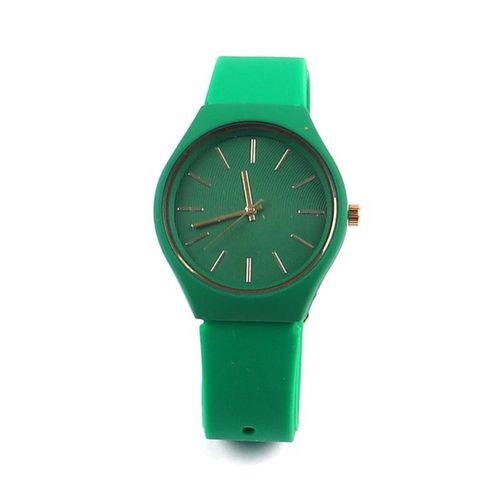 Spectrum Yeşil Silikon Kordon Kadın Kol Saati