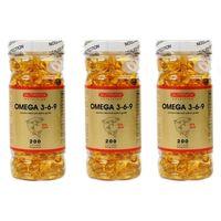 Nutrivita Nutrition Omega 3.6.9 200 Softgels 3 Kutu