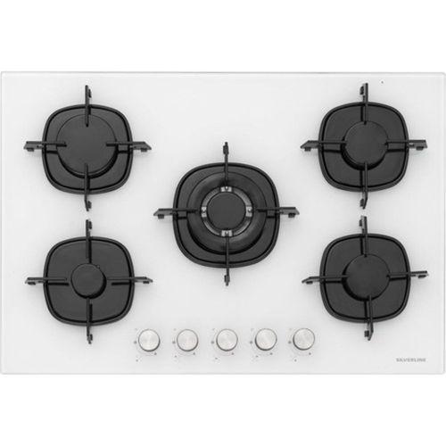 Silverline BO6191W02 - CS5365W01 - 3420 Classy 90 Beyaz Cam Ankastre Set
