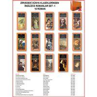 İngilizce Dünya Klasikleri 15 adet Roman Set-1 Orijinal Kutu ...